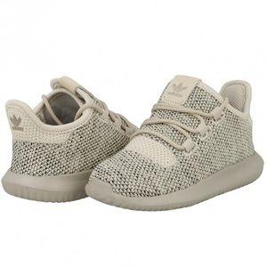 Adidas Infants Knit Tubular Shadow Shoes, sz 8